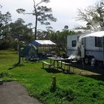 Foto van Fort Pickens Campground
