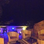 Panoramic of the terrace/pool/bar area