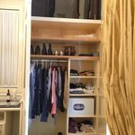 Great closet space.