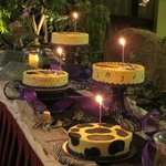 Party space - cake table