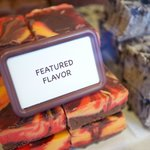 Featured fudge: Lava!  It melts your mouth.