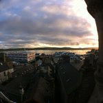 View of Lerwick port area from Grand Hotel