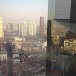 View from 24th floor facing Nanjing Road