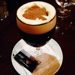 Irish coffee in the pub attached to the hotel.  Such attention to detail was evident throughout