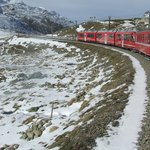Bernina Swiss Railway Line