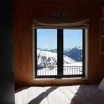 View from Chalet Bedroom