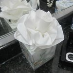 Cute tissue flower