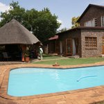 The pool and boma