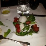 My caprese salad -- amazing!!