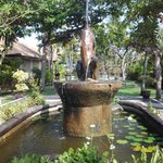 nice dophin fountain