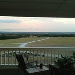 View of the Pedernales River Valley from the patio outside of the Sunrise Suite