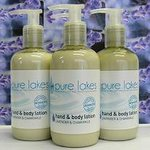 Pure lakes environmentally friendly toiletries