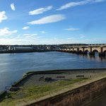 THE RIVER TWEED FROM THE TWEED ROOM