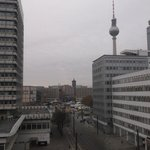 View from 6th floor room facing Alexanderplatz