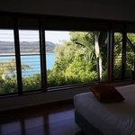 Bedroom of Windward pavilion, clean and nice view