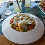 Lunch at Pebble Beach restaurant, casual, natural, healthy Australian foods