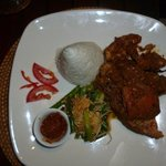 Delicious food at Villa Ratih at Taman Sari
