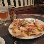 Great nachos and NM beer