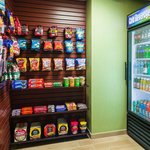 Visit our Convenience Corner Suite Shop for snacks and other items