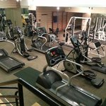 Gym on the top floor