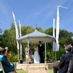 Wedding gazebo  Ballina Beach Resort