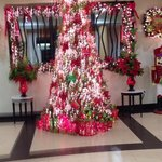 one of the trees in the lobby