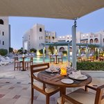 Fanadir Hotel restaurant terrace