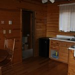 Kitchen, 2 bedroom, ocean front chaletSalt Springs Spa Resort  |  1460 North Beach Rd, British C