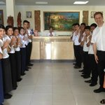 The warm welcome at Don Bosco Hotel School