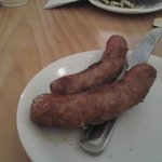 deep fried sausages,  I know they are as worked in an establishment that does them, please admit