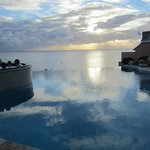 Infinity pool - beautiful view but small