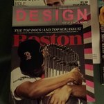 Magazine selection made me feel at home... go Sox!