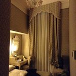My elegant room at the Hotel Canaletto