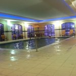 larger than normal indoor pool