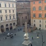 view out our window of the pantheon!