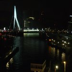View over Erasmus Bridge