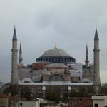 View of Hagia Sophia from the room