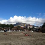 nice view from Beach to Teide