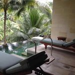 jacuzzi and plunge pool
