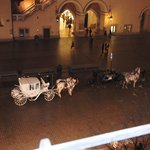Horse and carriage outside the hotel - must do trip
