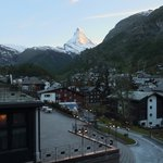 View from balcony towards Matterhorn