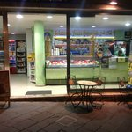 Lovely gelateria 5 metres from Taodomus across Corso Umberto