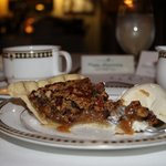 Carmelized Sugar on the Pecan Pie was excellent.