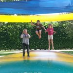 Jumping pillow to ourselves
