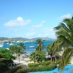 Christiansted Harbor from our room
