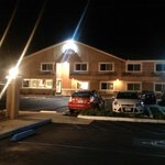 EconoLodge at night