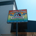 Holiday Village sign