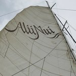 The Alii Nui, a custom-built, luxury 65' sailing catamaran