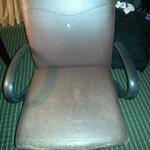 Hilton desk chair in room!!!!!!!!