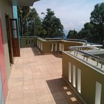 The LARGE terrace - ideal for spending 2/3 hours outside